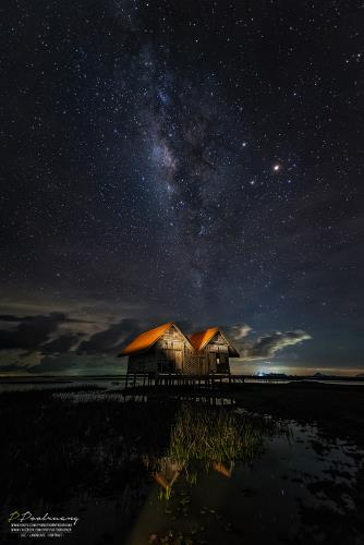 Milky Way At Phatthalung